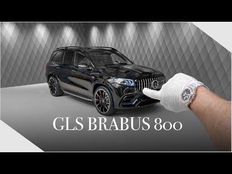 BIG BODY BENZ feat. BRABUS - Brand New GLS 800 ! Detailed Walkaround | Luxury Cars Hamburg