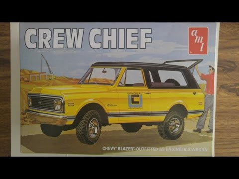 Model Kit Review - AMT Crew Chief Blazer (12.16.16)