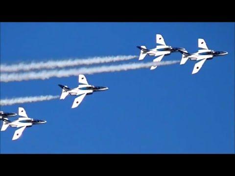 新田一郎 エリア88サウンドに乗せて!入間航空祭2014~ブルーインパルス~@イオン狭山店屋上