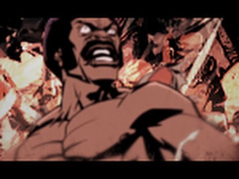 Making a Black Dynamite signature with Gimp