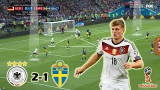 Toni Kroos - The Saviour | Germany vs Sweden 2-1 | Tactical Analysis | World Cup 2018