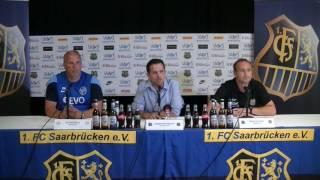 1. FC Saarbrücken - Kickers Offenbach |Pressekonferenz nach dem Spiel 3.Spieltag 16/17