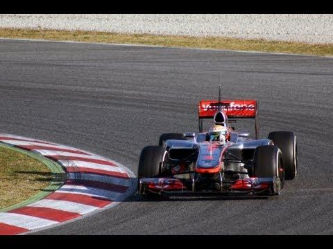 Formula 1 Tests Barcelona 2012 HD
