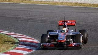 Formula 1 Tests Barcelona 2012 HD
