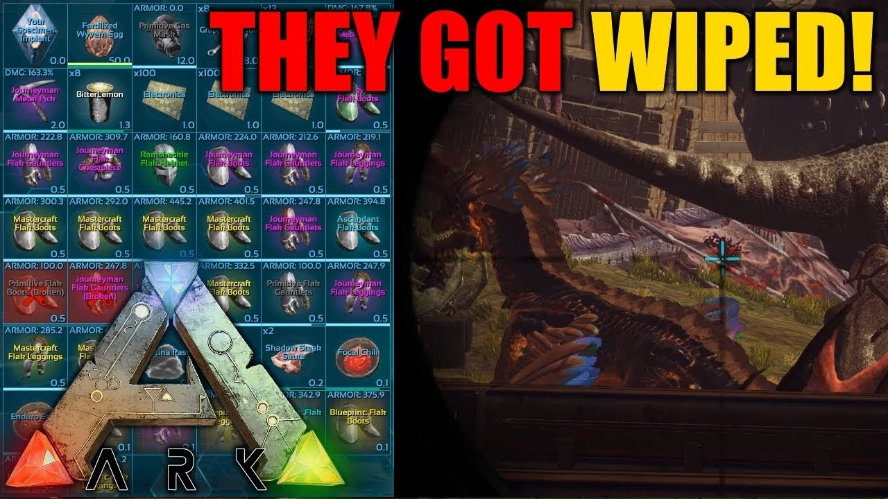 Our first official tribe raid they got wiped tribe official pvp they got wiped tribe official pvp ark survival evolved malvernweather Image collections