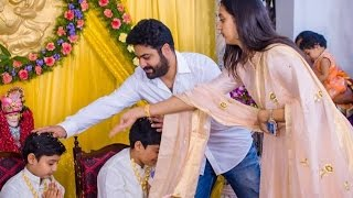 Jr NTR Full Family JanakiRam Sons Dhoti ceremony | Jr NTR Full Family| Kalyan Ram| Harikrishna
