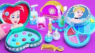 12 DIY Miniature Disney Princess Makeup ~ Cinderella, Rapunzel, Ariel
