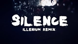 Marshmello ft. Khalid - Silence (Illenium Remix) [Lyric / Lyrics Video]