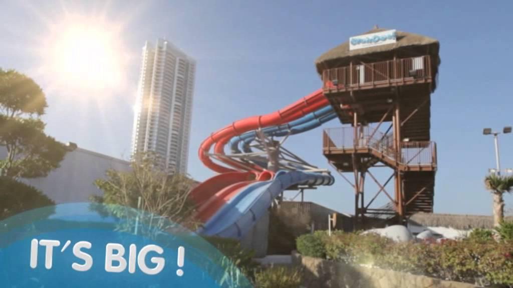 Wahooo Waterpark - Bahrain City Centre - YouTube