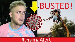 Jake Paul Corona Virus Party BUSTED! #DramaAlert Dr Disrespect UPDATE! Mr Beast & Twitter HACKED!