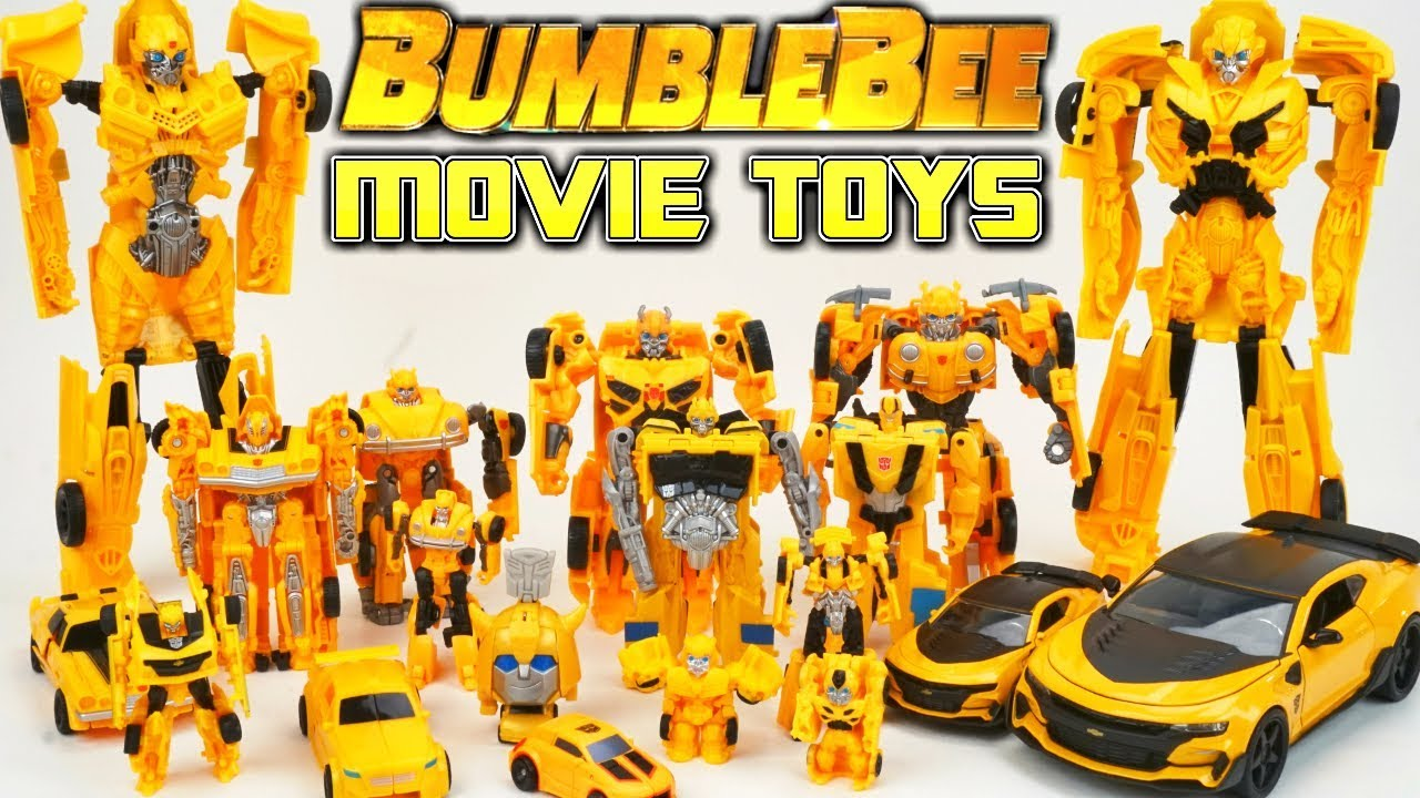 Transformers Bumblebee Movie Toys Collection One Step Changers Robots In Disguise Toys Day 20 Youtube