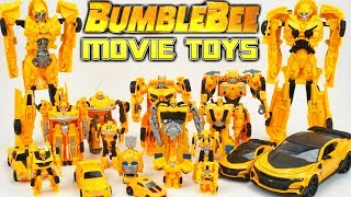 Transformers Bumblebee Movie Toys Collection One Step Changers Robots in Disguise Toys DAY 20