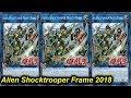 【YGOPRO】ALIEN SHOCKTROOPER FRAME DECK 2018