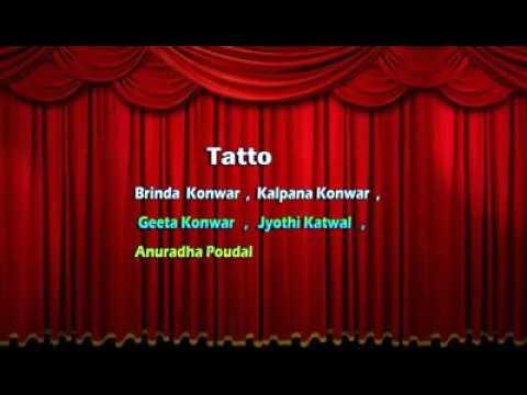 Tere nam ka tattoo Mogok dance performance  Burmese Nepali
