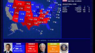 2012 Election Simulation - Obama vs. Gingrich