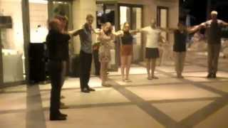 Sentido Pearl Hotels Culture [HD] – Greek Dance Class with Tasos (8 Sept 2015)