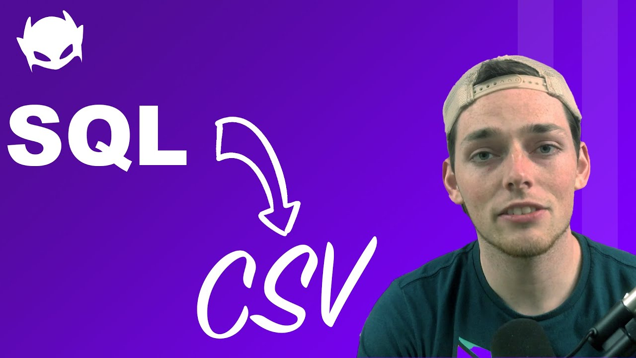 Dynamic SQL Queries Writing information to CSV Documents