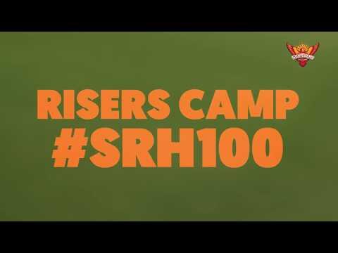 SunRisers Hyderabad   #SRH100 Practice Session