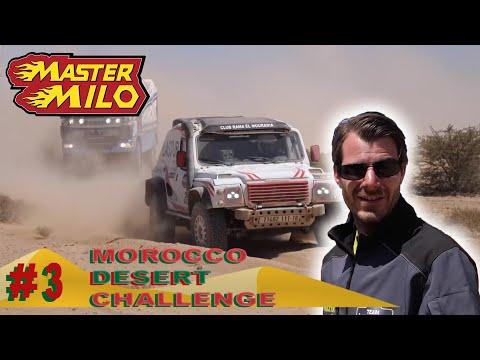 Marokko Desert Challenge dag #3 - 3 Kapotte banden?!