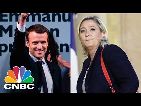 The French Election: Chances Of Marine Le Pen, Emmanuel Macron, Francois Fillon | Squawk Box | CNBC