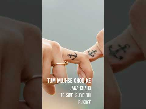 Mujhe Tumse Ye Promise Chahiye   Full Screen WhatsApp Status   New Promise Whatsapp Status