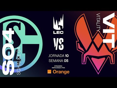 SCHALKE 04 VS VITALITY | LEC | Spring Split [2019] League of Legends thumbnail