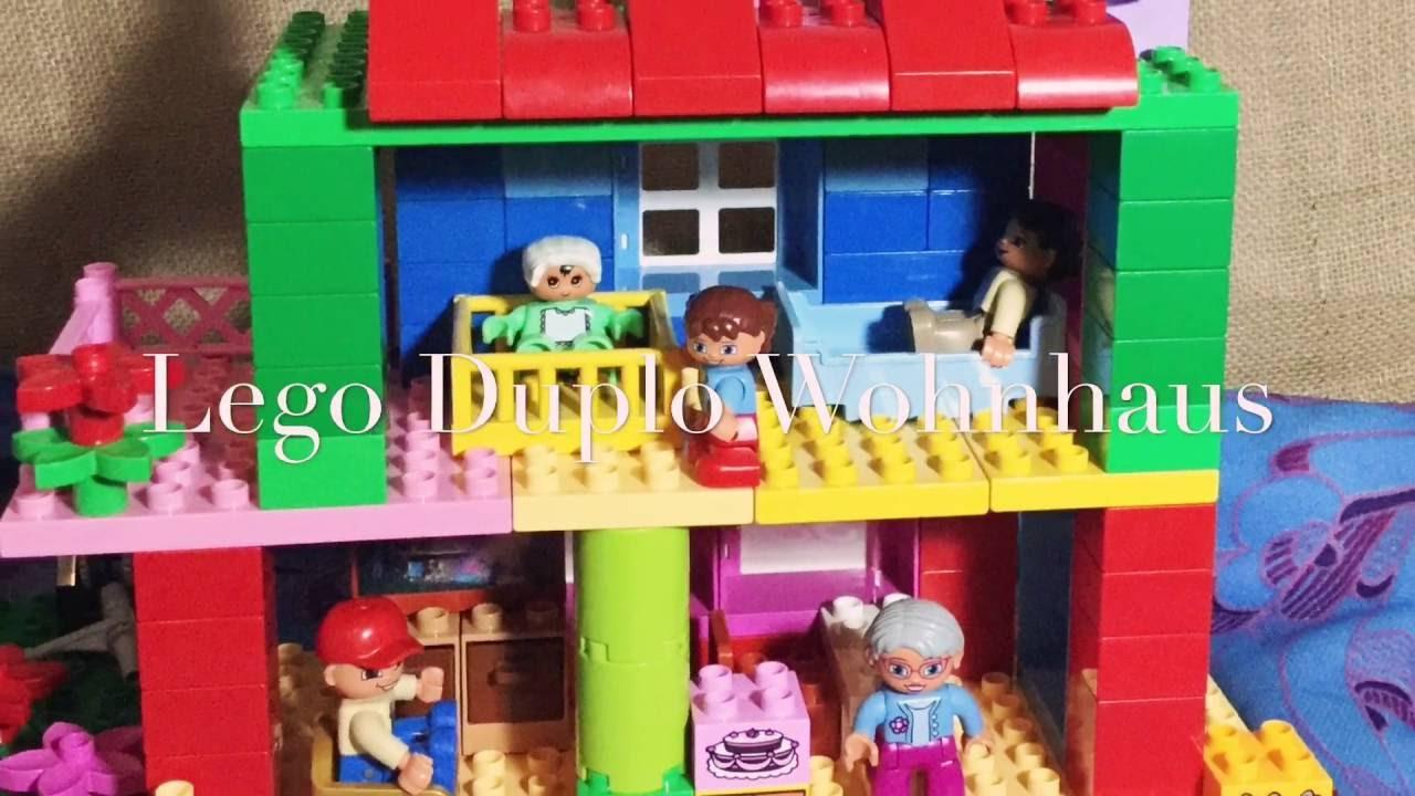 Lego Duplo Haus Marke Eigenbau Kleine Villa Einfamilienhaus