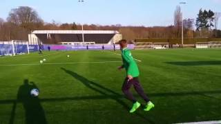 Romeo Pajer Probetraining SV Darmstadt U16 (April 2016)