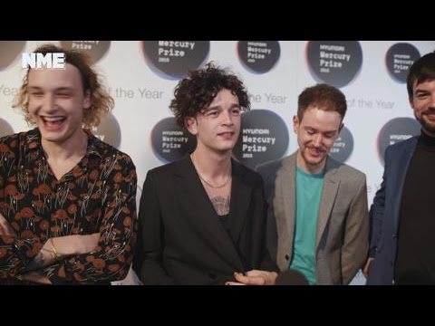 Mercury Awards 2016: The 1975 on critical acclaim, working with an orchestra and  endless drugs