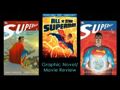 All Star Superman Graphic Novel & Movie Review