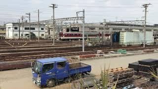 ◆6両編成 入庫 近鉄 東花園電車区◆