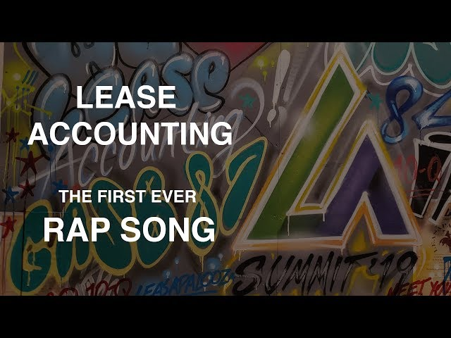 First Ever Lease Accounting Rap Song by Baba Brinkman
