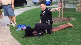 Extended video of cop in McKinney, Texas, incident