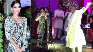Gambar cover Sonam Kapoor Dance With Abu Jani On Prem Ratan Dhan Payo At Sandeep Khosla's Niece' Wedding