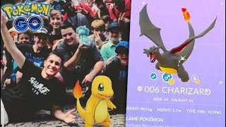 THE GREATEST MON IN POKÉMON GO HISTORY: SHINY CHARIZARD! (Shiny Charmander Community Day)