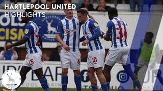 Extended highlights | Pools 1-1 Exeter City | 25th September 2021