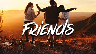 Mishaal - Friends (Lyrics) feat. Powfu