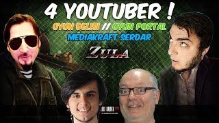 """Gambar cover 4 YouTuber Efsane """"ZULA"""" Kapışması ! w/Oyun Delisi,Oyun Portal,Oha Diyorum Serdar Abi"""