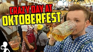 A Crazy Day At Oktoberfest In Munich (Germany) | The Wiesn Diaries | Episode 1