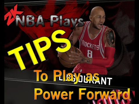 How to play as Power Forward PF in NBA 2k16.