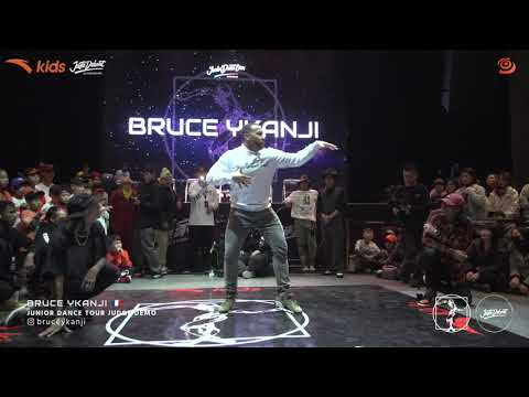 Bruce Ykanji ? Judge demo Juste Debout Shanghai 2020 Junior Dance Tour