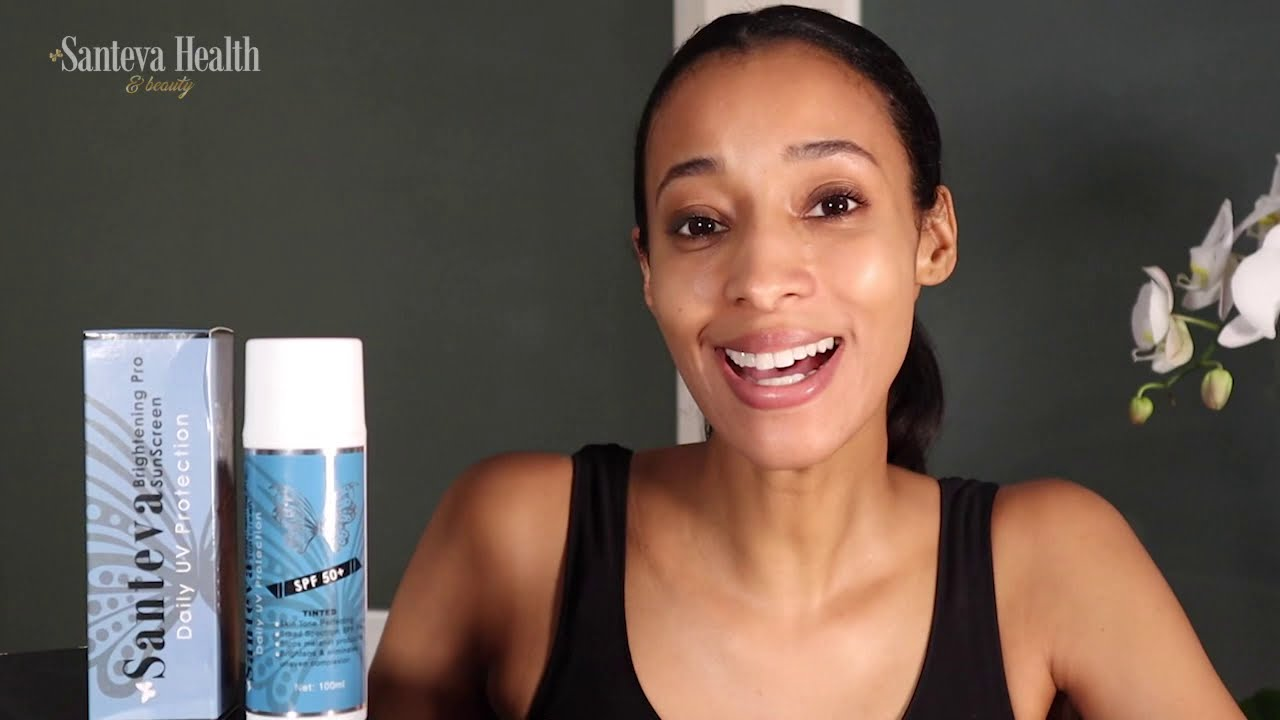 How to use Santeva Brightening Pro Tinted Sunscreen