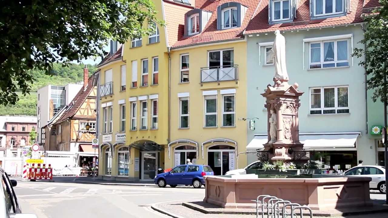 a walk in bad mergentheim germany may 2012 youtube. Black Bedroom Furniture Sets. Home Design Ideas