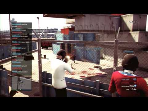 GTA ONLINE-Deathmatch Parkour #3 (By Alpha)