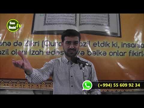 Haci Samir Quran Tefsir meclisi (Quranda İslam dinin mahiyyəti -2)14032018
