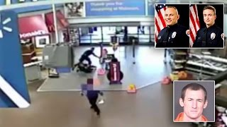 Deadly Shootout In Walmart Between Officers And Suspect Caught On Video