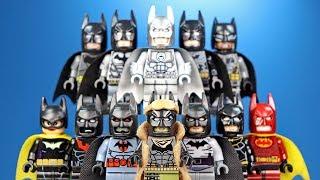 LEGO Batman Gallery of Batsuits Unofficial Minifigures Batman Beyond Rebirth