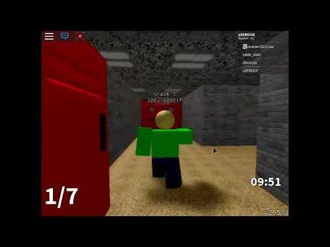 Roblox Baldi S Basics Multiplayer Beta Codes Youtube