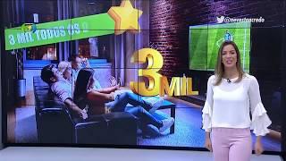 Jéssica Smetak sensualíssima 27/04/2018.