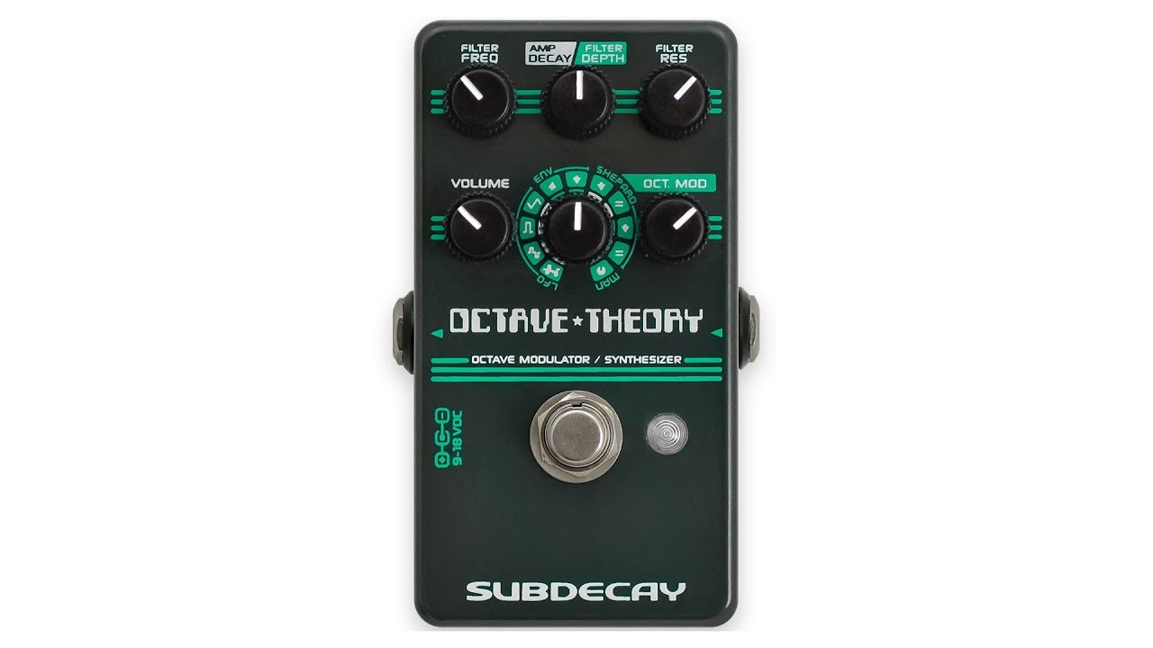 Subdecay Guitar effect pedals